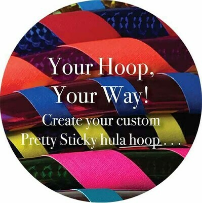 Your Hoop, Your Way: custom hula hoop!