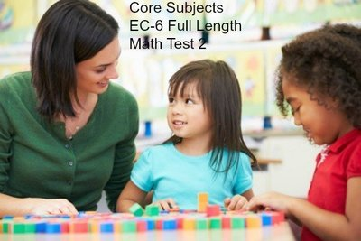Full Length Math Test 2 With Answers