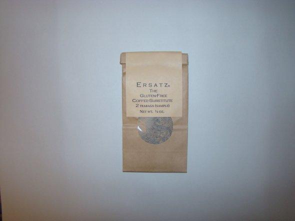 Ersatz®-Sample pkg. of 2 teabags-Front of pkg.