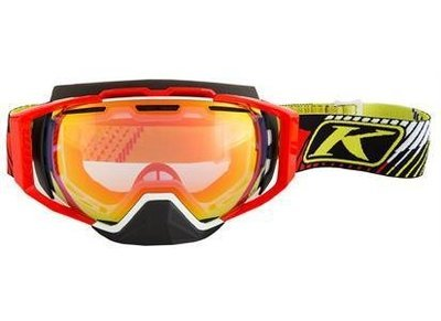 Klim Oculus Goggle Tribal Warfare Rød