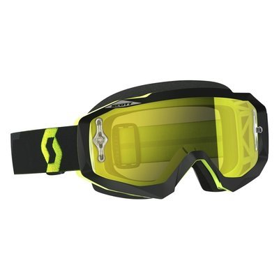 Scott Hustle MX Brille Sort/Fluo Gul