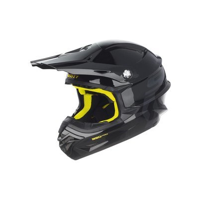 Scott 350 Pro Hjelm - Sort/Gul