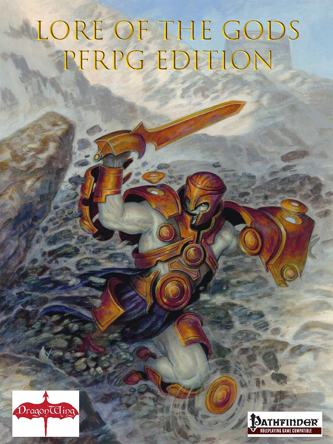 Lore of the Gods: PFRPG Edition (Pathfinder) (print copy)   [PREORDER!!] DWG5100