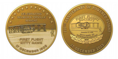 110th Anniversary Commemorative Medallion Coin