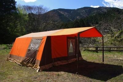 ドイツ製 POUCH × Camping Star 新品同様 大型ロッジテント