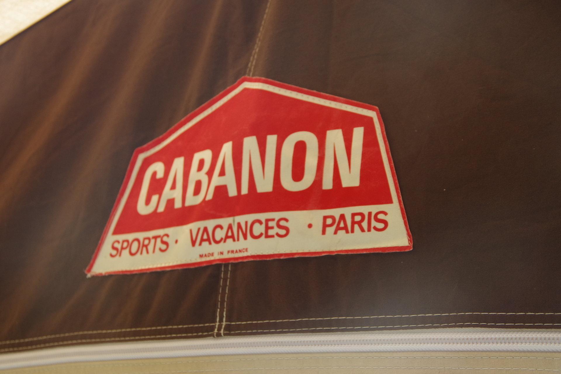 キャバノン ナディア 6人用 80年代 オールド幕 人気 ヴィンテージ幕 フレームテント Cabanon Nadine