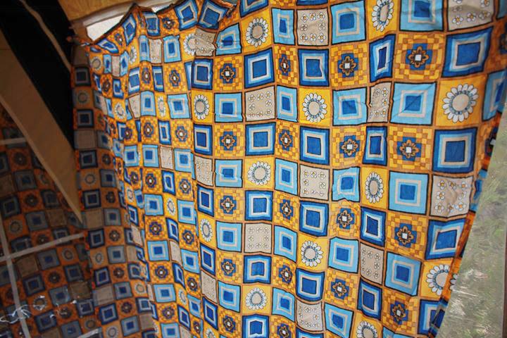 キャバノン ナディア ブルー 6人用 フルコットン 美品 ヴィンテージ幕 フレームテント  Cabanon Nadia