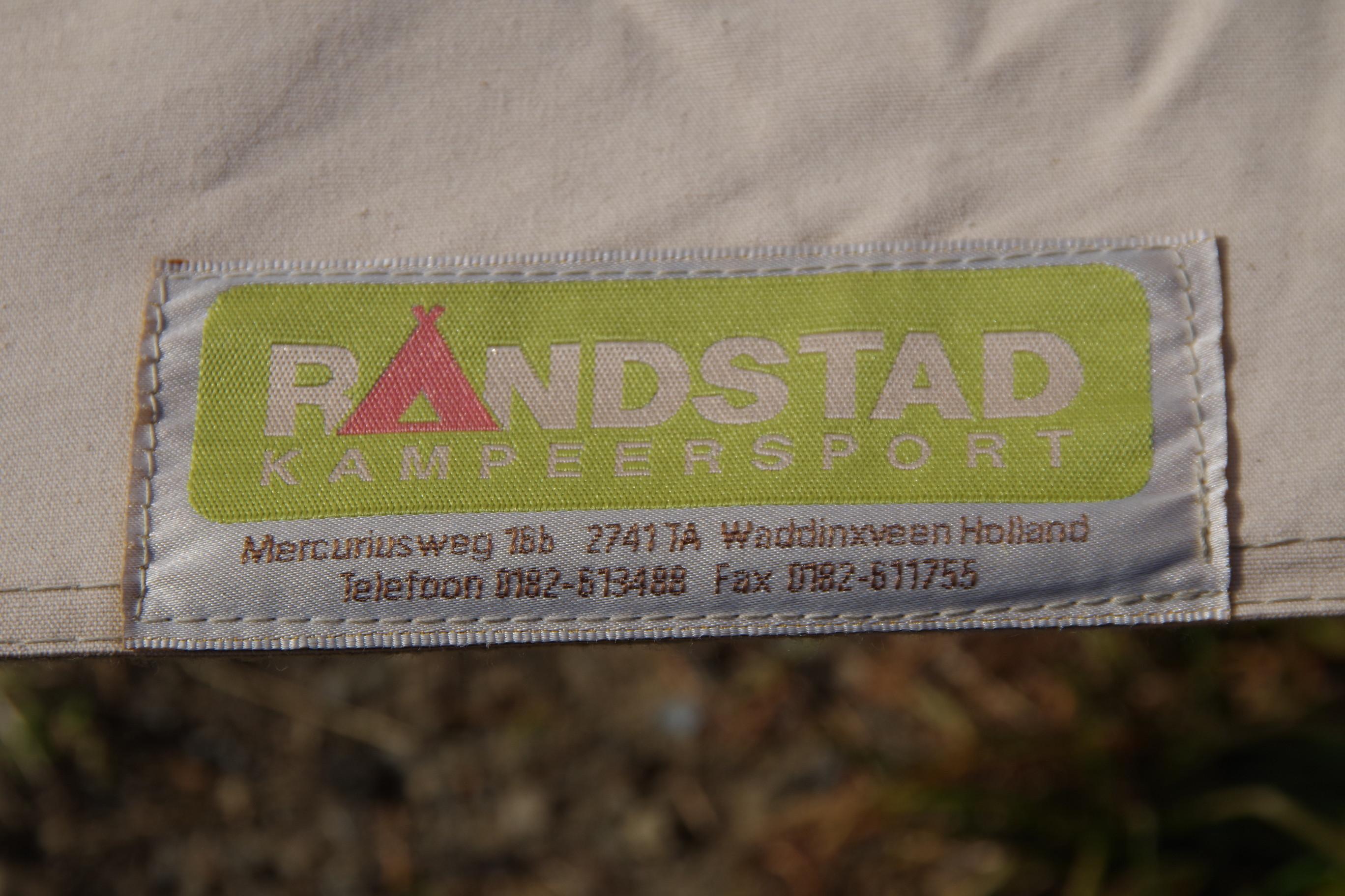 RANDSTAD オランダ ストーム ピラミッドテント