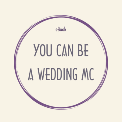 eBook pdf YOU CAN BE A WEDDING MC