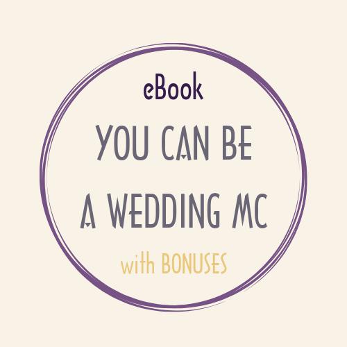 eBook pdf YOU CAN BE A WEDDING MC bonus ebook wmc ycbawmc bonus