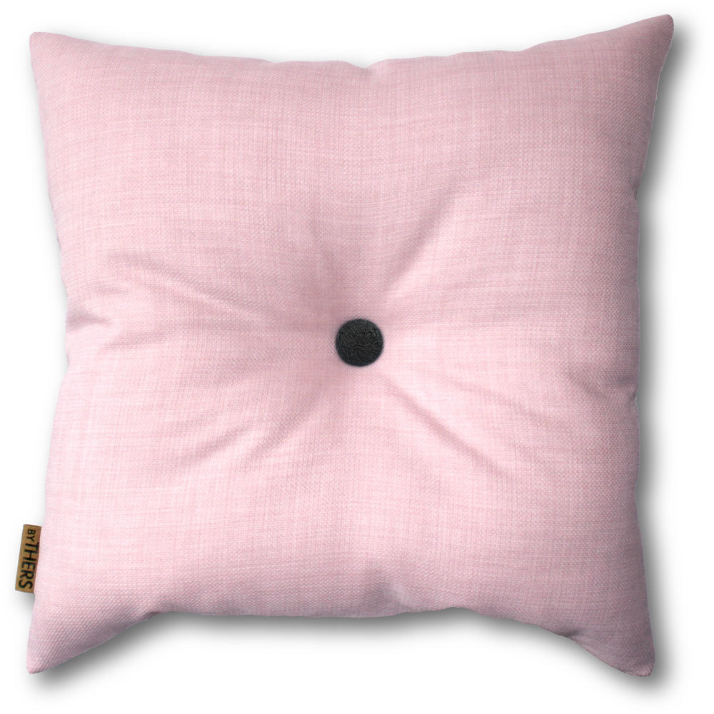 Sart rosa pude med knap 1102