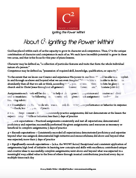 C2: igniting the power within Sample - How it Works