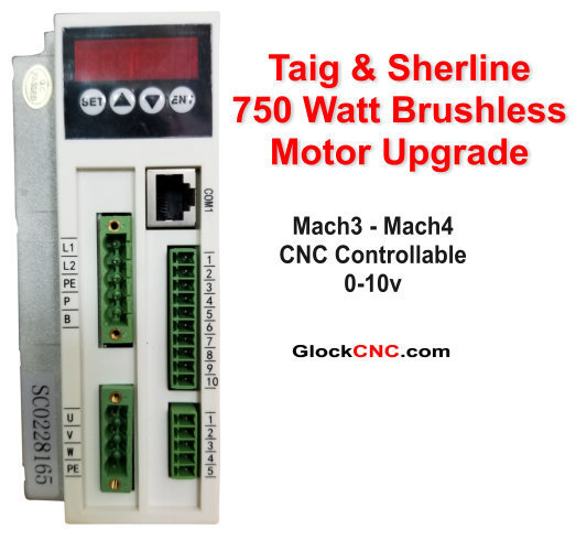 Sherline & Taig 750w Motor Upgrade