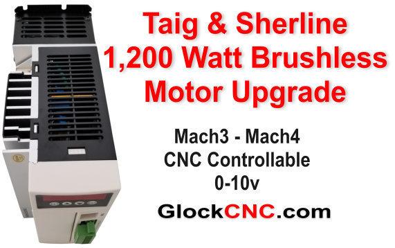 Sherline & Taig 1200w Motor Upgrade