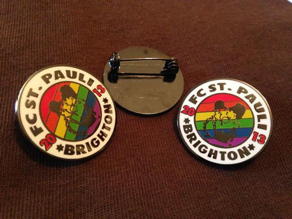 Pride Enamel Badge