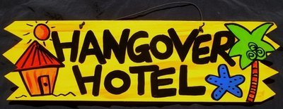 Hangover Hotel Sign