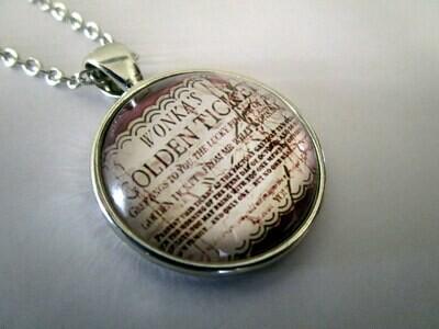 Golden Ticket Necklace