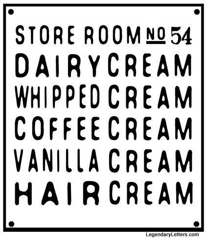 creamsign