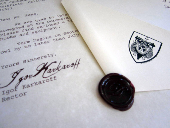 Letter Wax Seal
