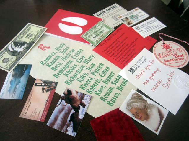Santa Claus Evidence Kits elf1065