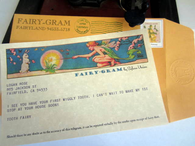 Telegram from the Tooth Fairy elf1075