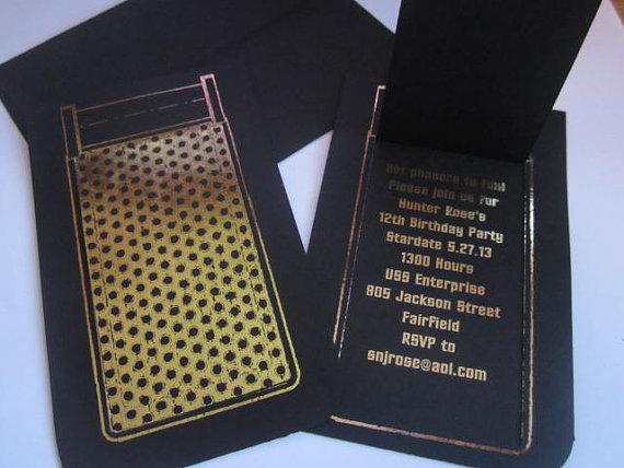 Communicator Notecard or Invitation