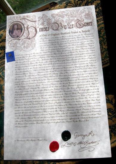 Large Letters of Marque (script font)