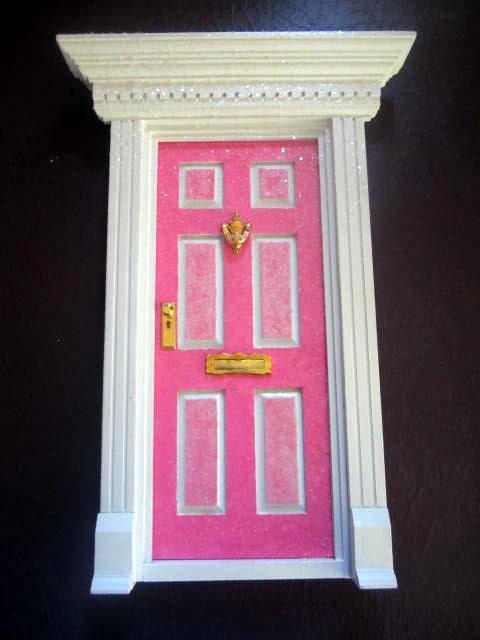 Pink Tooth Fairy Door