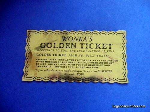 Wonka Classic Golden Ticket