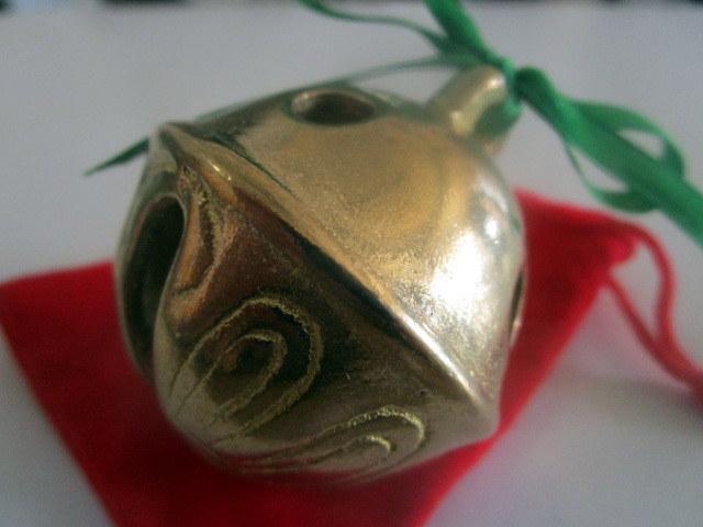 Christmas Polar Express Brass Sleigh Bell elf65478