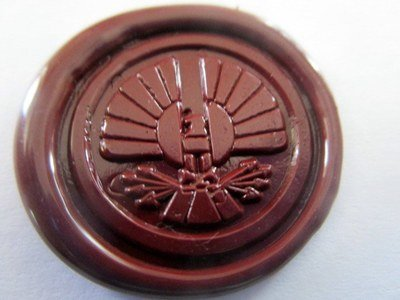 Starving Games District or Jay Wax Seals (10)