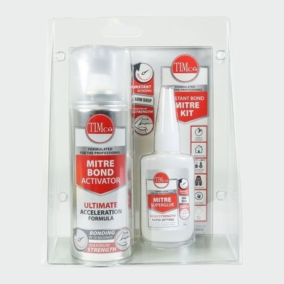 Instant Bond Mitre Kit 200ml / 50g