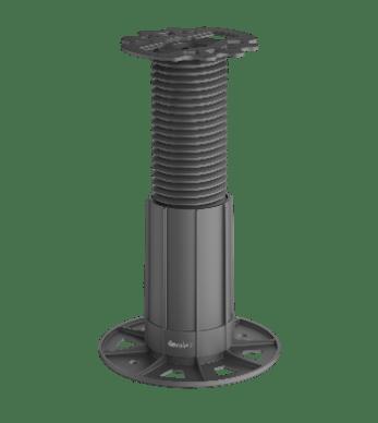 Eurotec Adjustable Decking Pedestal  -BASE 4 Adjusts from 110mm up to 210mm