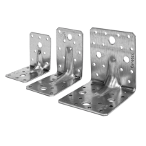 Eurotec Angle Bracket 90mm x 90mm x 65mm  Pack of 1 EUR-904726
