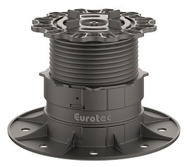 Eurotec Profi Line M -  Feet with Paving Slab Adaptors - 53mm - 82mm