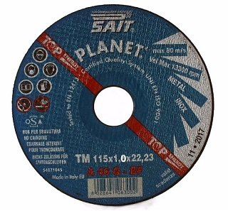 Sait Planet Cutting Discs Ultra Thin 1.0mm For Metal