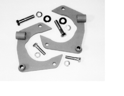MUSTANG II CALIPER BRACKET KIT, for Granada rotors, ready to weld 2125