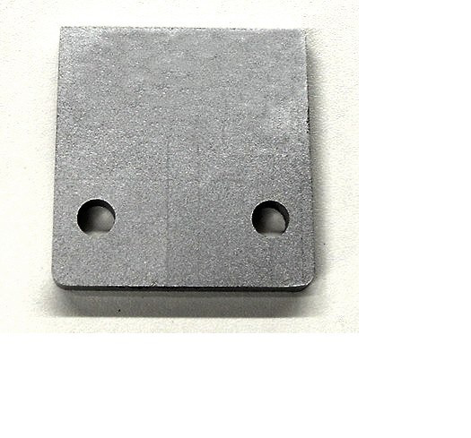 Proportioning Valve Mounting Plate 070700