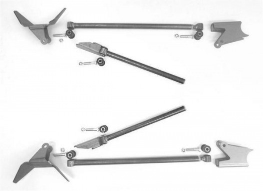 Rear Four Link Kit, 8.8 or GM