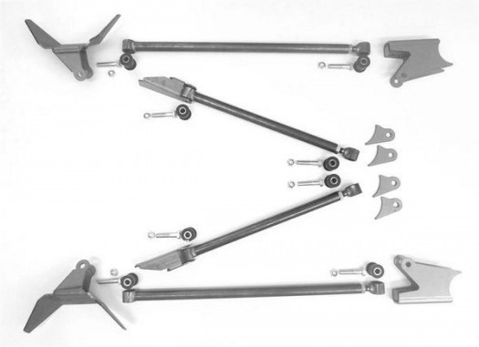 Triangulated Rear Four Link Package, for Air Springs WS318600