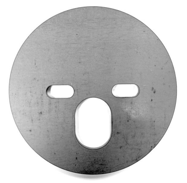 """Air Bag Plate, 5-1/2"""" diameter 474262"""