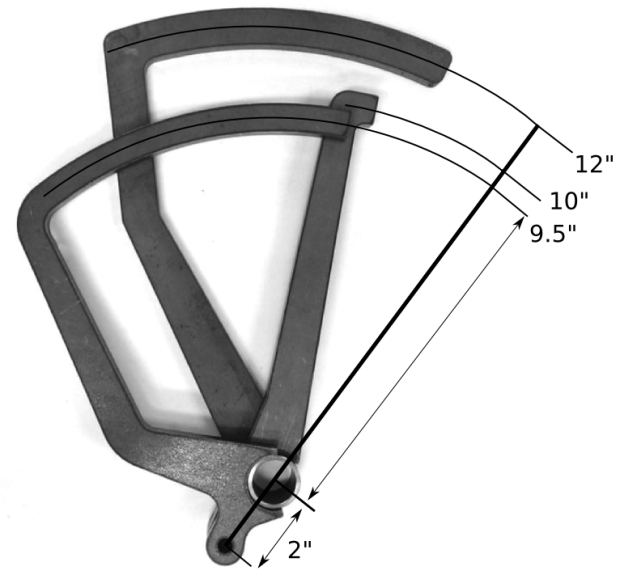 Brake/ Clutch Pedal, for Manual Brakes