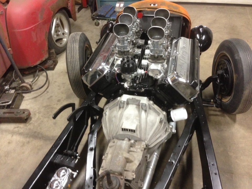 Brake/clutch installed