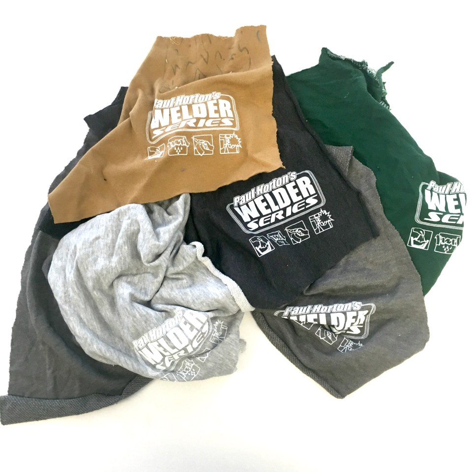 Shop Rags - 5 pack 5 rags