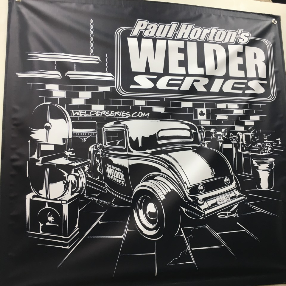 Welder Series 3x3 Shop Banner Banner 3x3