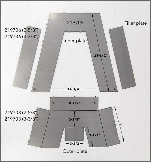 Step Notch Kit Pieces 2197xx