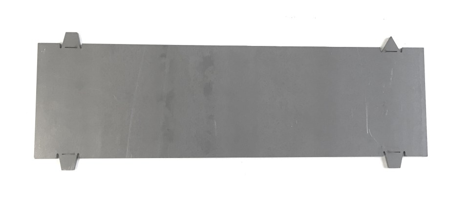 Front frame boxing plate, 1961-71 Dodge D100 680001