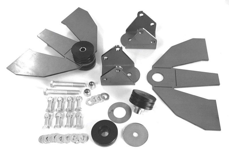 Early Hemi, 318/340/360/383/400/440 Engine Mount Kit 254318