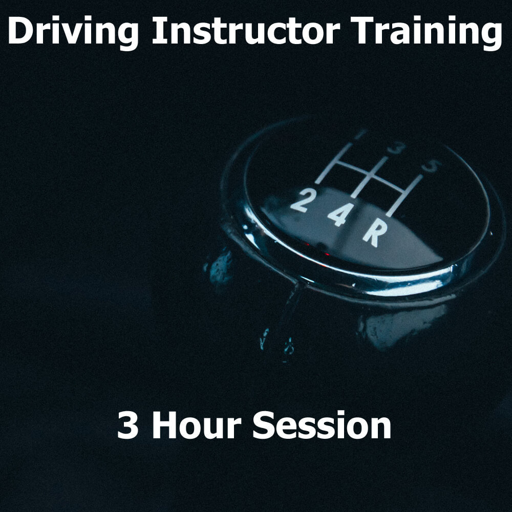 Driving Instructor Training Session (3 Hours) 0000051