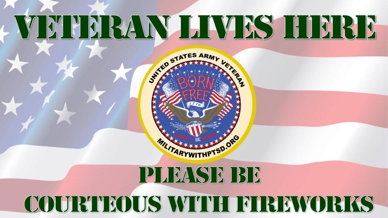 ARMY FIREWORK SIGN 21008